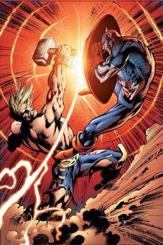 Thor vs. Captain America