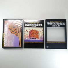 Robot Carnival OVA DVD [Korea Limited Edition, PET Cover, 104P. Booklet, 1Disc]
