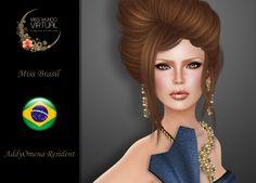 https://flic.kr/p/xYiNVK | Miss Brasil - AddyOmena Resident | Aquí están! Tenemos el inmenso honor de presentales a las Candidatas Oficiales a Miss Mundo Virtual 2016, una de ellas será la próxima representante de la Belleza Latina.