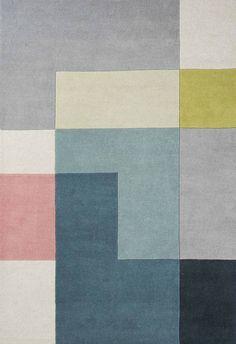 WovenGround Rugs | Modern Rugs | Tetris Rugs | Green
