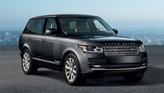 The sophisticated design of the Causeway Gray Range Rover HSE