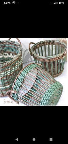 Paper Basket Weaving, Reno, Basket Ideas, Decorative Bowls, Baskets, Stitching, Manualidades, Hampers, Basket