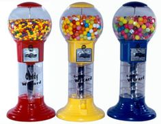 Lil' Wizard Spiral Candy/Gumball Machine | Gumball & Candy Machines