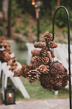 Inspired by this Southern California Pine Cone Wedding   Inspired by This Blog