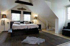 övervåning Bedroom Loft, Dream Bedroom, Home Bedroom, Master Bedroom, Bedroom Decor, Other Rooms, Detached House, Building A House, Flooring