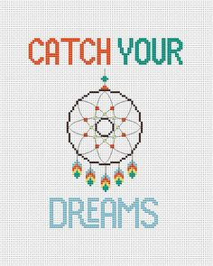 Catch your dreams - cross stitch pattern pdf. The pattern will fit nicely in a 8x10 frame (or 20 cm x 25 cm) on 14 count fabric.  ★★★ Pattern specifications ★★★ This listing is for the PDF pattern only! Just download, print and cross-stitch!  ➔ Stitches used: full cross stitch, backstitch ➔ DMC Colors: 5 pieces (№ 958, 727, 721, 3761, 898). ➔ Design size in stitches: 82x 100 ➔ Design size in inches and centimeters (approximately):  5.9 X 7.2 in или 14.9 X 18.2 cm (for 14 count Aida or 28…