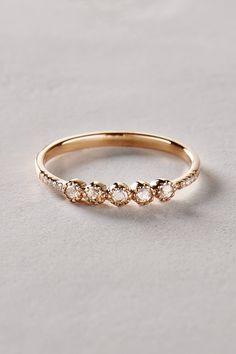 Rosecut Diamond Ring in 14k Gold - anthropologie.com