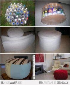 poef-maken-met-flessen