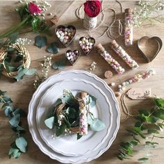 Wedding party favors with PastiglIe Leone.