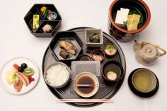 The Japanese breakfast provides a healthy start to the day. It's rich in vegetables — from both land and sea — often includes fermented foods such as miso