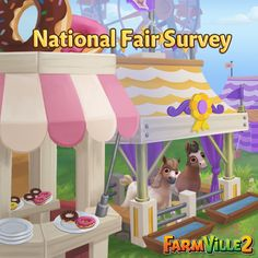 Hello Farmers! The FarmVille 2 team values your feedback and we want to know what you think ofNational Fair! Survey