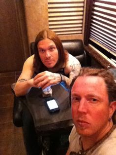 Brent Smith and Barry Kerch - Shinedown