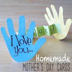 15 Sweet Homemade Mother's Day Cards for Kids | Spoonful