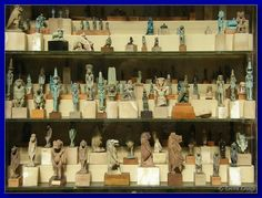 IMAGES FROM THE EGYPTIAN MUSEUM CAIRO | Some of the many Egyptian Gods.
