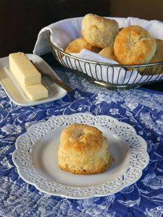 Biscuits - Dairy or Dairy Free Vegan - Easy buttery and delicious biscuit recipe for breakfast, brunch or dinner.