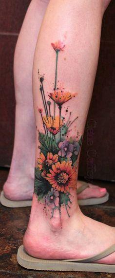 Ocean Floor Tattoo