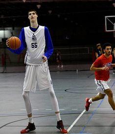 Meet Robert Bobroczky: Europe's 7-foot-6. 15-year-old basketball player | Tall Men - Walking Skyscraper | Basketball. Basketball Players. 15 years