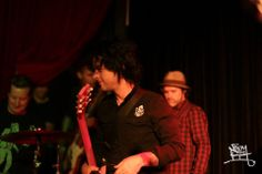 Billie Joe, Sydney Australia 2.21.2014  Secret Show. 250 in crowd.