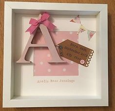 Personalised New Baby, Birth, Christening, Boy & Girl Frames Gift/Keepsake in Baby, Christening & Gifts, Christening | eBay