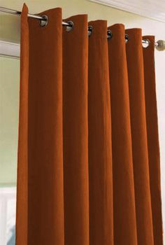 luxury orange curtains drapes and window treatments | Rust, Pumpkin, Bright & Burnt Orange,drapes.... Cherie