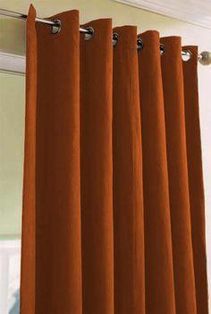 luxury orange curtains drapes and window treatments  | Rust, Pumpkin, Bright & Burnt Orange,drapes.... Cherie