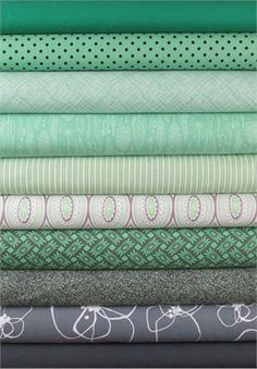 Fabricworm Custom Bundle, Mint for you in FAT QUARTERS 10 Total