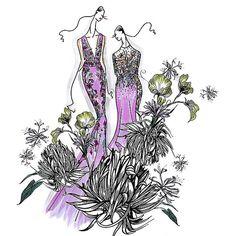 Inspiration Behind Matthew Williamson's Autumn Winter 2015 Show At London Fashion Week | Shows | Grazia Daily