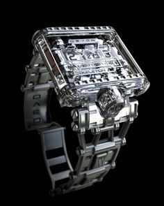 Devon's Tread 1 Exoskeleton watch