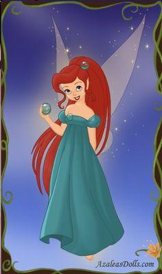 Fairy Ariel by ~PinkPetalEntrance on deviantART