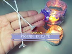 Stoppini Fai da Te per Candele ❖ TUTORIAL ❖ DIY Homemade Candle Wicks - YouTube