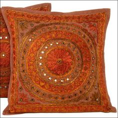 decorative pillows orange- i have similar ones in my living room : )
