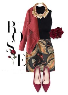 """""""Number#5"""" by caketi ❤ liked on Polyvore featuring Boohoo, Dsquared2 and Zara"""