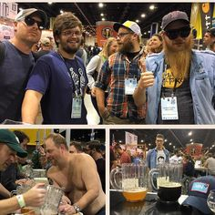 Some visitors at the booth today...#gabf #mncraftbeer @ablebrewery @fairstatecoop