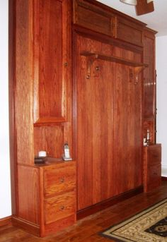 List of materials and tools needed to build a Murphy Bed, along with links to purchase-able plans...