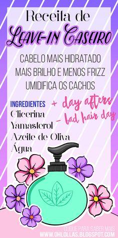 new Ideas for hair care diy spray Leave In, Brown Hairs, Natural Hair Care, Natural Hair Styles, Diy Hair Care, Beauty Forever, Curly Hair Tips, Hair Health, Bad Hair