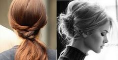 Image on the right... Like the loose, unstructured updo