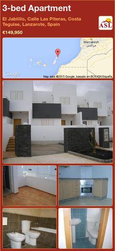 Apartment for Sale in El Jablillo, Calle Las Piteras, Costa Teguise, Lanzarote, Spain with 3 bedrooms - A Spanish Life Marrakesh, Costa Teguise, Apartments For Sale, Spanish, Flat Screen, Bedroom, Life, Street, Lanzarote