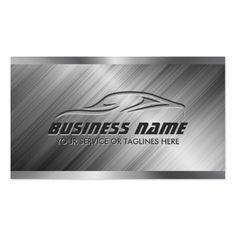 Automotive detailing business cards pinterest business cards and auto detailing car repair automotive modern metal business card colourmoves