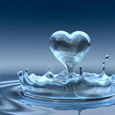 Coração de água