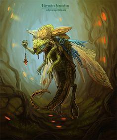 Keeper of the hive by Sedeptra.deviantart.com on @deviantART