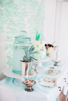 Majestic Under the Sea Birthday Party on Kara's Party Ideas | KarasPartyIdeas.com (59)