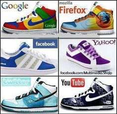 Google, Firefox, YouTube, Facebook, Social Media, #SocialMediaGeek