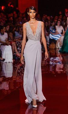 Elie Saab / Paris / Women / 2013-14 FW / Haute Couture / Runway, Fashion Show,fashion trend, fashion week, fashion blog,fashion online, HK blogger - ELLE HK