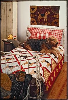 """It's like a dream come true! ..... """"I made this quilt and it appeared in our first book, Folk Art Friends."""""""