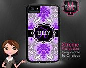 Custom Monogrammed Xtreme Cases, Iphone 4 & 4s, Iphone 5, Iphone 5s (comparable to Otterbox brand)