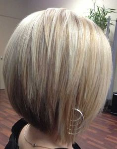 Layered Bob Hairstyle for Straight Hair