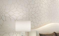 lotus não- tecido papel de parede de estilo moderno fashion tv fundo quarto de parede papel de parede US $45.00