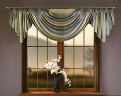 Drapery Styles, Drapery Designs, Custom Window Treatments, Daisy, Arched Windows, Window Styles, Kitchen Curtains, Drapes Curtains, Soft Furnishings