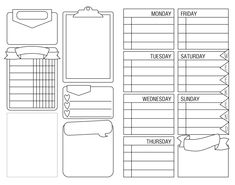 FREE PRINTABLE! POCKET (FIELD NOTES) INSERT FOR TN Monthly Calendar Template, Daily Planner Printable, Planner Pages, Free Printable, Blank Calendar, Calendar Printable, 2021 Calendar, Filofax, Organization Bullet Journal