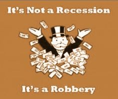 Nothing screams economic recovery like 2 out of every 5 Americans living paycheck to paycheck. Especially when that number has reportedly increased by 33% since 2012. Perhaps someone should inform...